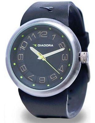 Diadora Sports Urban Unisex Quartz Watch Black & Green