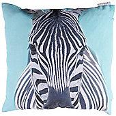 Puckator Zebra Print Scatter Cushion
