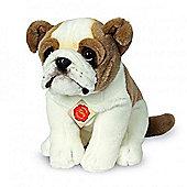 Teddy Hermann Sitting English Bulldog Plush Soft Toy