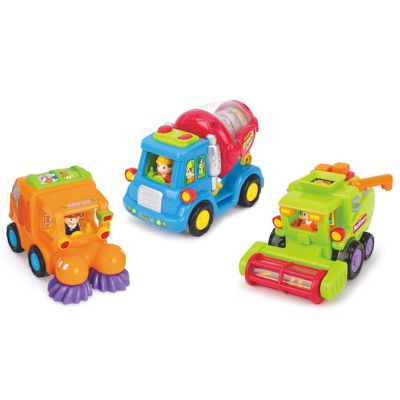 Tippi Friction Powered Fun Trucks