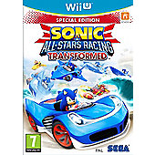 Sonic & All Stars Racing Transformed Limited Edition (Wii U)