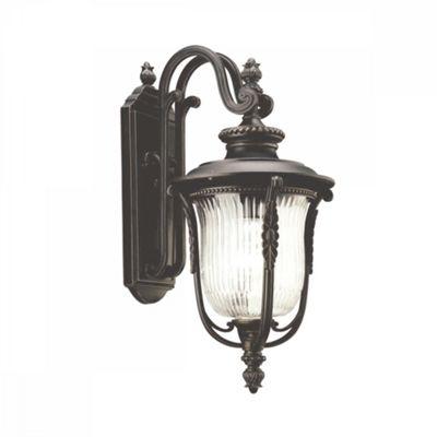 Rubbed Bronze Medium Wall Lantern - 1 x 100W E27