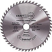TREND CSB/16248 CRAFT SAW BLADE 162MM X 48T X 20MM