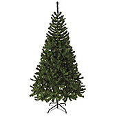 Alpine Fir Artificial Christmas Tree - Green - 210cm