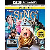 SING 4K UHD Blu-ray 2disc