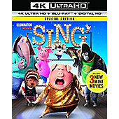 Sing 4K Ultra HD Blu-ray