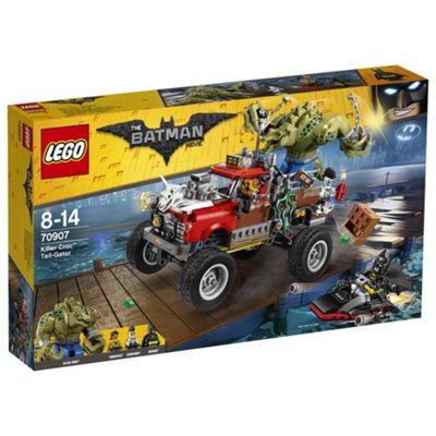 The LEGO Batman Movie Killer Croc Tail-Gator 70907 Batman Toy