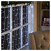 200 Connectable Icicle Christmas Lights, Bright White