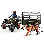 Schleich Quad Bike with Trailer and Ranger