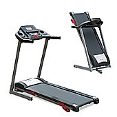 HOMCOM 1.75HP 1-14Km/h Incline Electric Running Machine Treadmill Folding LCD