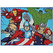 Marvel Avengers Rectangular Rug - 95 x 133 cm