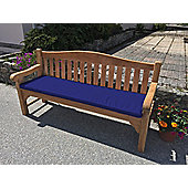 Four Seater Bench Cushion Midnight Blue