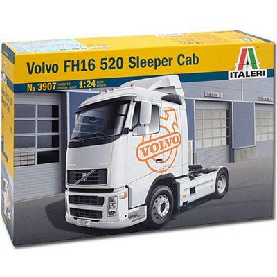 Italeri Volvo Fh16 520 Sleeper Cab 3907 1:24 Trucks Model Kit