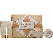 Bvlgari Aqva Divina Gift Set 65ml EDT + 100ml Shower Gel + 100ml Body Lotion + 150g Soap For Women