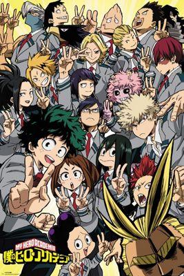 My Hero Academia School Compilation Poster 61 x 91.5cm