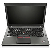 "Lenovo ThinkPad T450 14"" Intel Core i5 Windows 7 Pro 8GB RAM 256GB SSD Laptop Black"