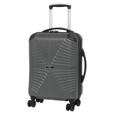 buy it luggage intersection cabin 8 wheel grey suitcase. Black Bedroom Furniture Sets. Home Design Ideas