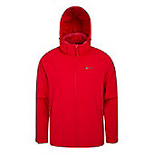 Mountain Warehouse Exodus Mens Softshell Jacket - Red