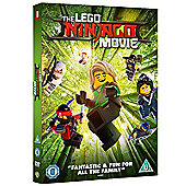 Lego Ninjago Movie DVD