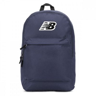 New Balance P-Classic School College Sports Backpack Rucksack - Navy Blue