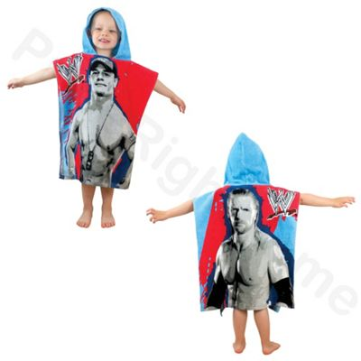 WWE 'Superstars' Poncho Hooded Towel
