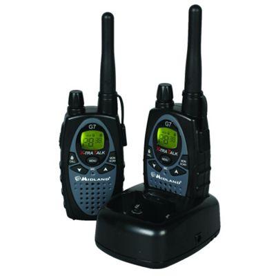 Midland G7 X-Tratalk PMR Radio Walkie Talkie Twin Pack