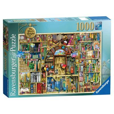 Ravensburger The Bizarre Bookshop 2, 1000-Piece Jigsaw Puzzle