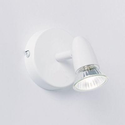 Endon Lighting Wall Spot Light in White