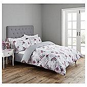 Fox & Ivy Cherry Blossom Duvet Set - Grey
