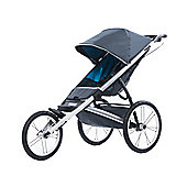 Thule Glide Dark Shadow 3 Wheel Jogging Stroller