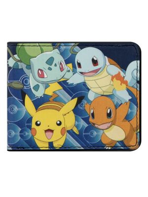 Pokemon Kanto Starter Bi-Fold Wallet