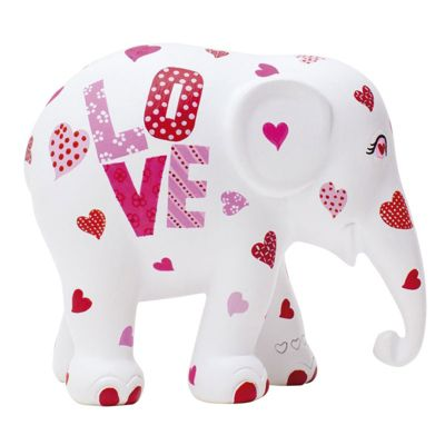 Elephant Parade Love and Kisses 10cm Collectible Artpiece