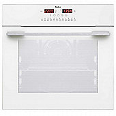 Amica 11433THW Built-in or Under White Electric Single Oven, 60cm