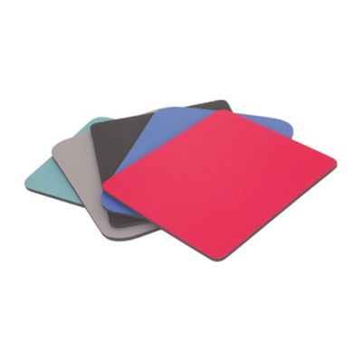 Computer PC Fabric Mouse Mat/Pad 6mm Plain Grey