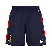 British & Irish Lions Rugby Kids Woven Gym Shorts - Navy