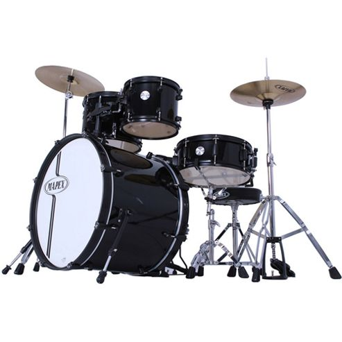 Mapex Voyager Drum Kit - Black