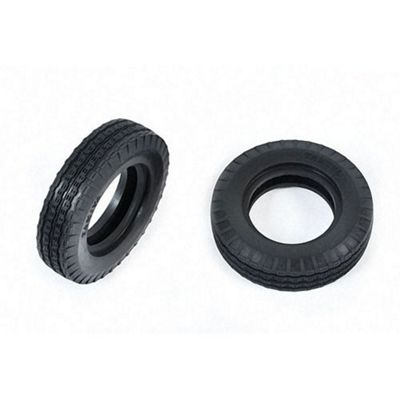 Tamiya 9805108 Front Tyres (2 Pcs) For 58441 - Rc Car Spares