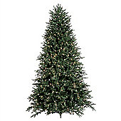 Tree Classics 2.1m (7ft) Lake Shore Blue Spruce with Warm LED Artificial Christmas Tree (84-4376-960LM)