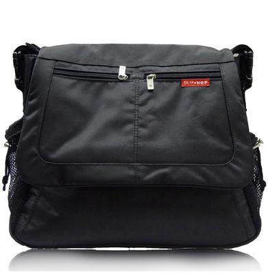 Skip Hop Via Messenger Changing Bag Black