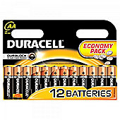 Duracell Duralock AA Batteries (Economy 12 Pack)