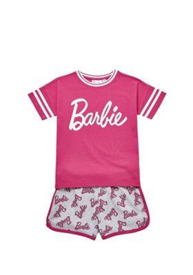 Barbie Logo Pyjamas Pink 6-7 years