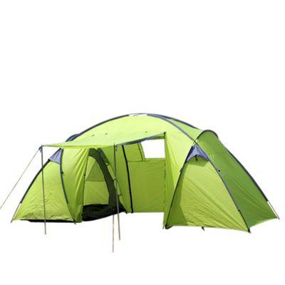 North Gear C&ing Trekker Waterproof 6 Man 2 Room Tent - Green  sc 1 st  Tesco & Buy North Gear Camping Trekker Waterproof 6 Man 2 Room Tent ...