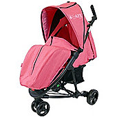 iSafe Limited Edition Visual 3 Stroller (Raspberry Pink)