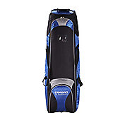 Forgan Golf Bag Travel Cover With Wheels Blue