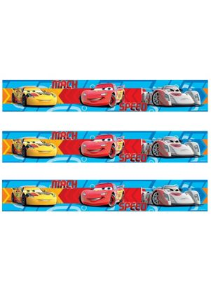 Disney Cars Speed Self Adhesive Wallpaper Border 5m