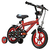 Terrain Stegosaurus 12 inch Wheel Red Kids Bike