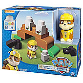 Paw Patrol Pup Rubble Crane with Transforming Backpack