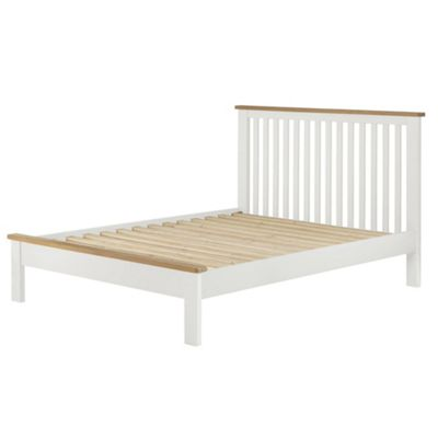 Padstow White Bed 3'
