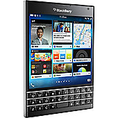 BlackBerry Passport Smartphone - 32 GB Built-in Memory - Wireless LAN - 4G - Bar - Black