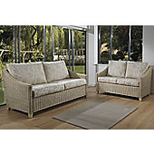 Desser Dijon 3 Seater and 2 Seater Conservatory Sofa Set